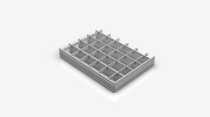 Pressgitterrost - Typ SF 33x33