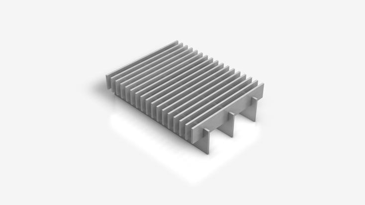 Comb grating - a special product of Panne