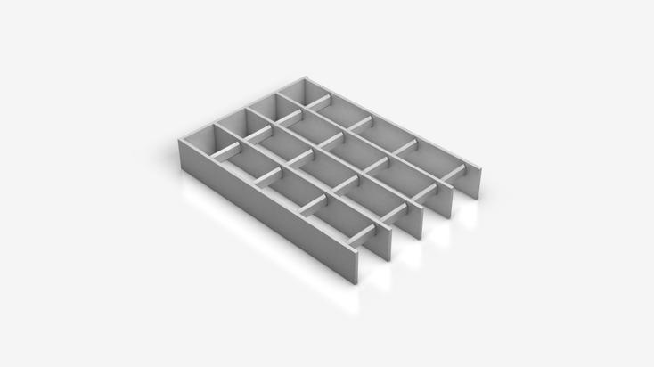 INDURO® Aluminium grating - A 35x50